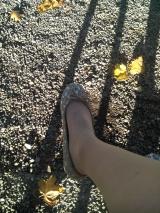 Oualllla sortie des chaussures de princesse (that's me!)