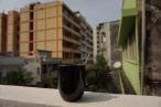 Café sur le balcon